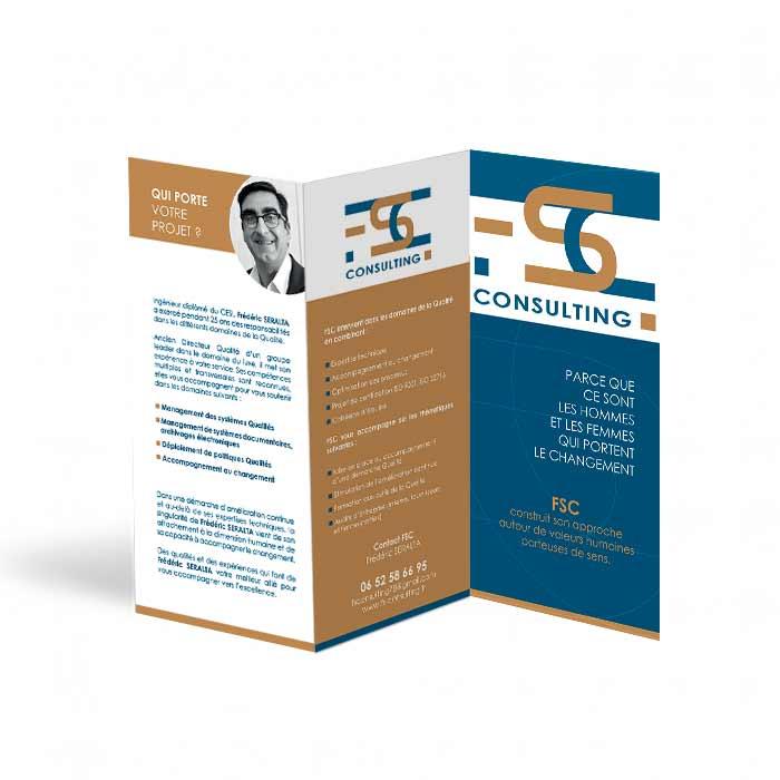 Lidentit Visuelle De FS Consulting