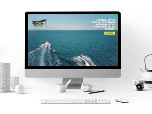 Site internet St Cyp Jet Evasion