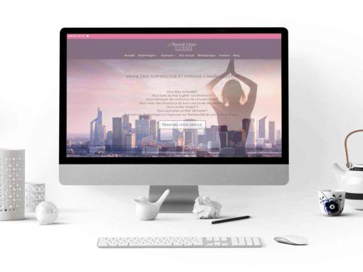 Site internet Ariane Dray sophrologue