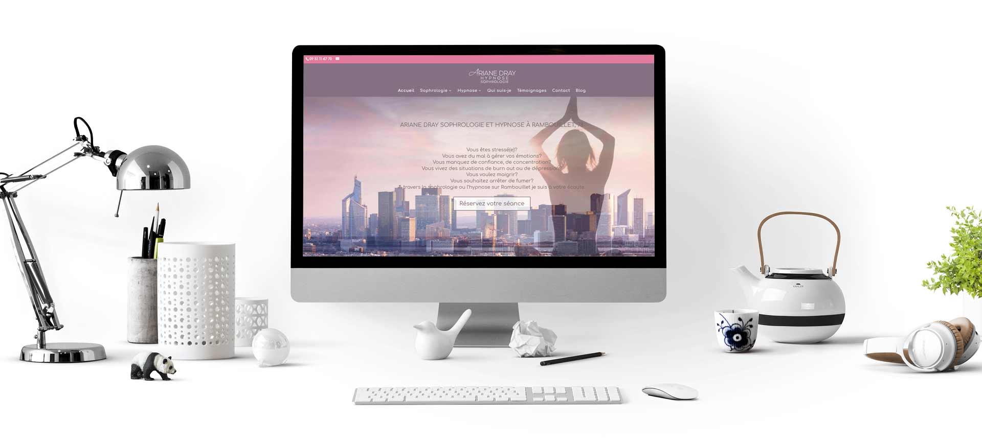 Site internet pour sophrologue
