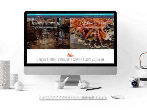 Site web pour un restaurant