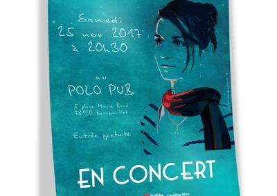 Affiche concert Caroline Biau