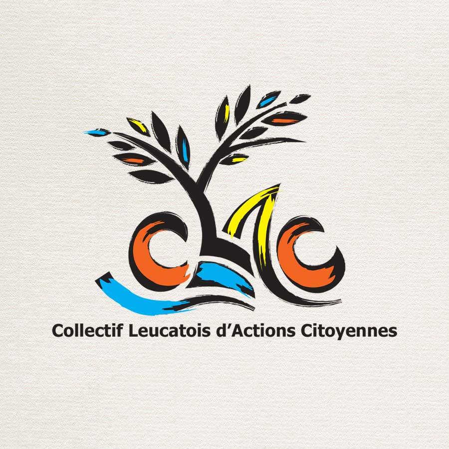 Création du logo du CLAC le Collectif Leucatois d'Actions Citoyennes