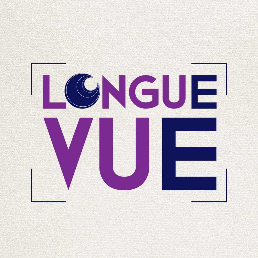 Création du logo Longue Vue pour une orthoptiste