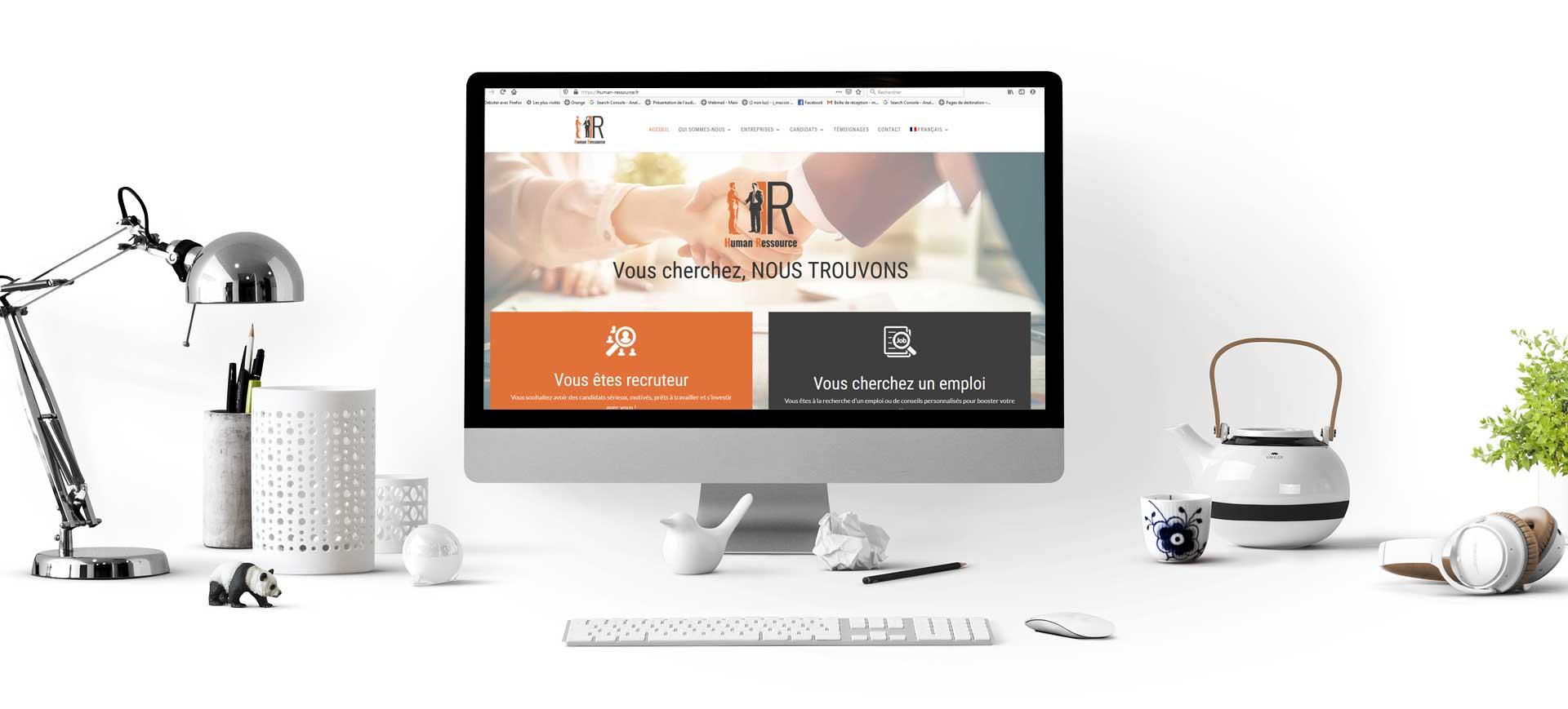 Site internet Human Ressource